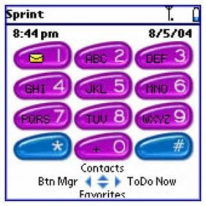 Treo Button Manager