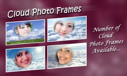 Cloud Photo Frames
