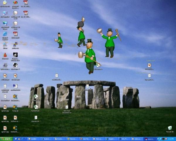 Drunken Leprechaun 3D Screensaver