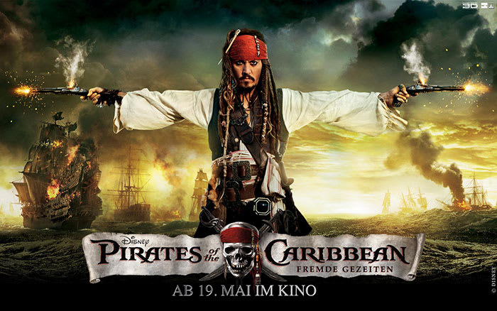 Pirates of the Caribbean - Fremde Gezeiten Wallpaper Jack