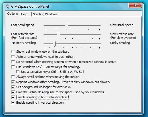 GiMeSpace Desktop Extender
