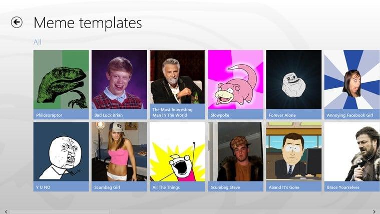Meme-maker for Windows 10