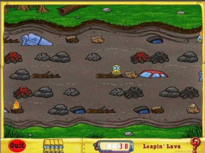 Leapin' Lava Game
