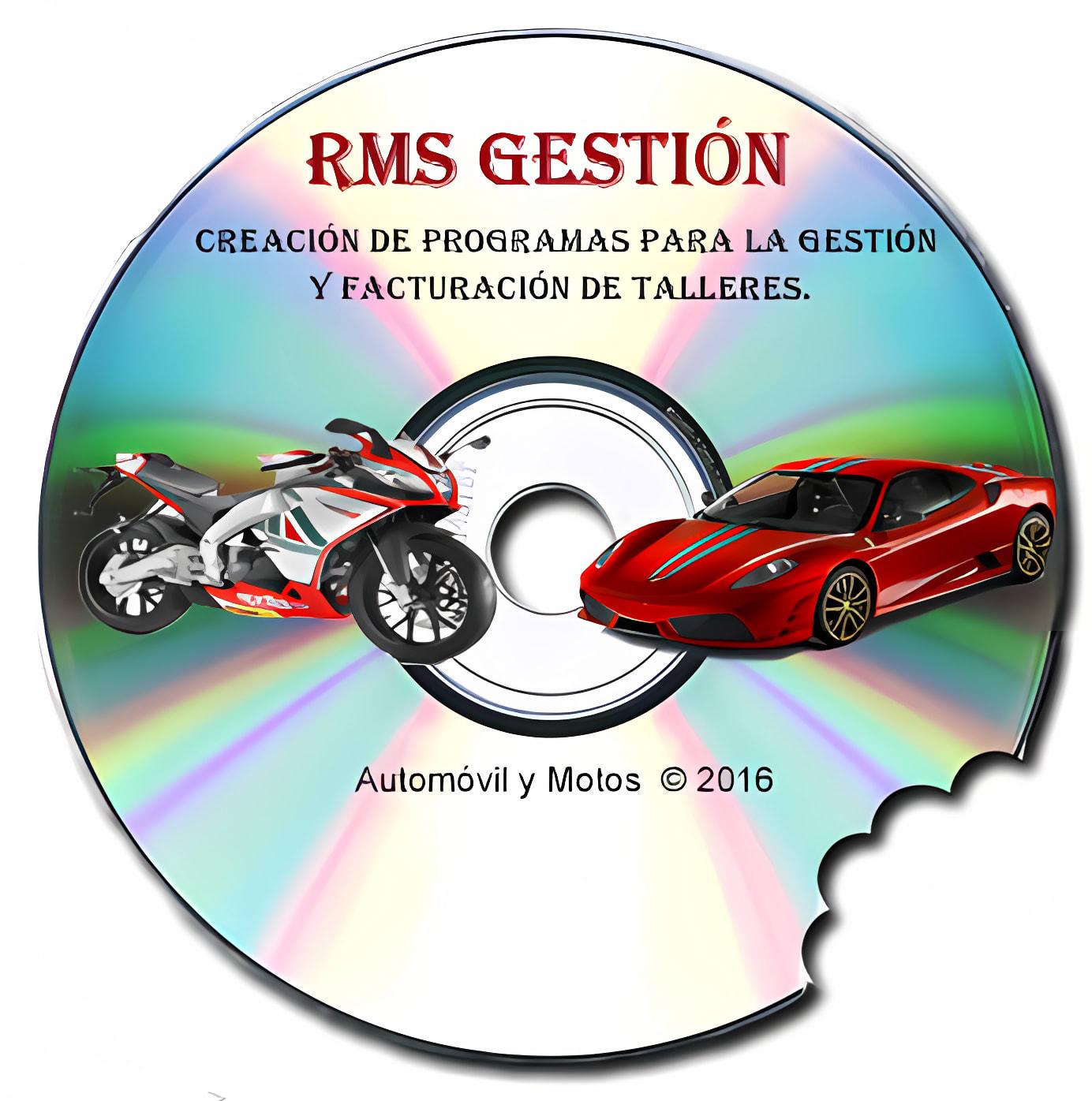 RMS Gestion para Talleres de mecanica 2013
