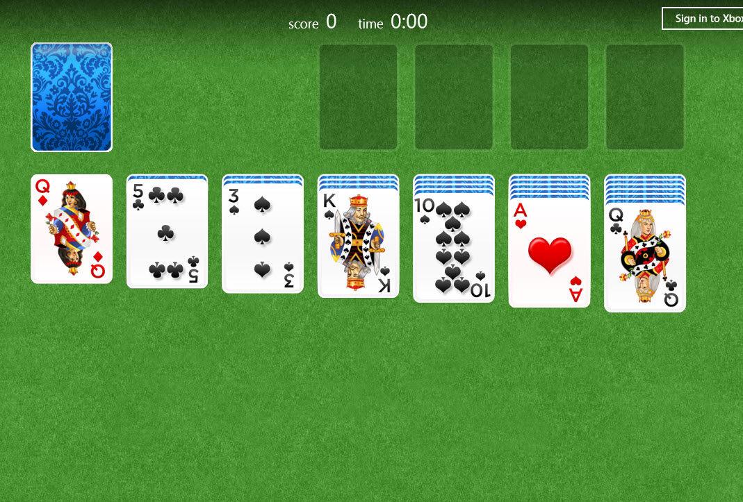 Blackjack card game not 21