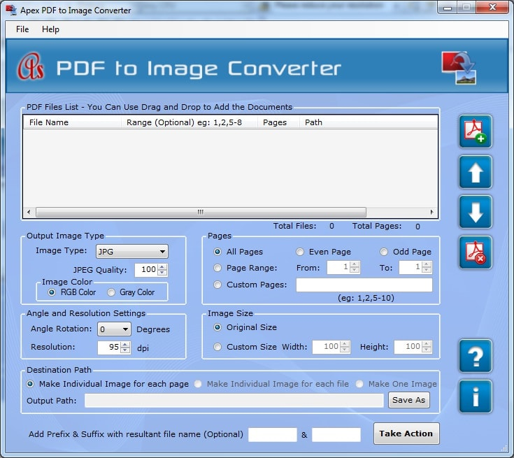 Apex PDF to Image Converter