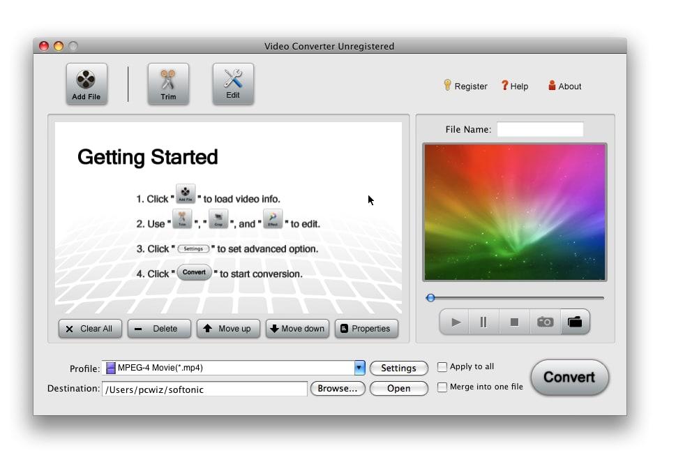 iOrgSoft Movie Converter for Mac