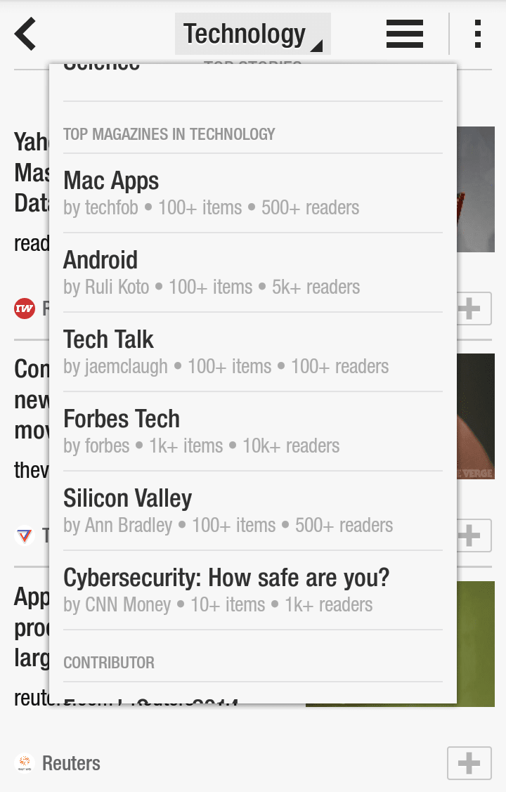 As Opposed To Showing Entire Webpages, The App Formats The Content To Read  Like A Magazine Article View Full Description