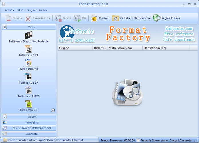 Portable FormatFactory 245 tested | exmabadte1972 | Gamer