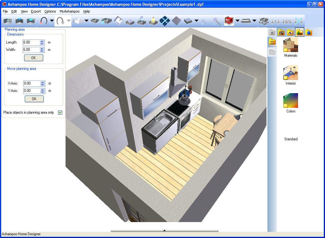 Ashampoo Home Designer Pro 4 Overview