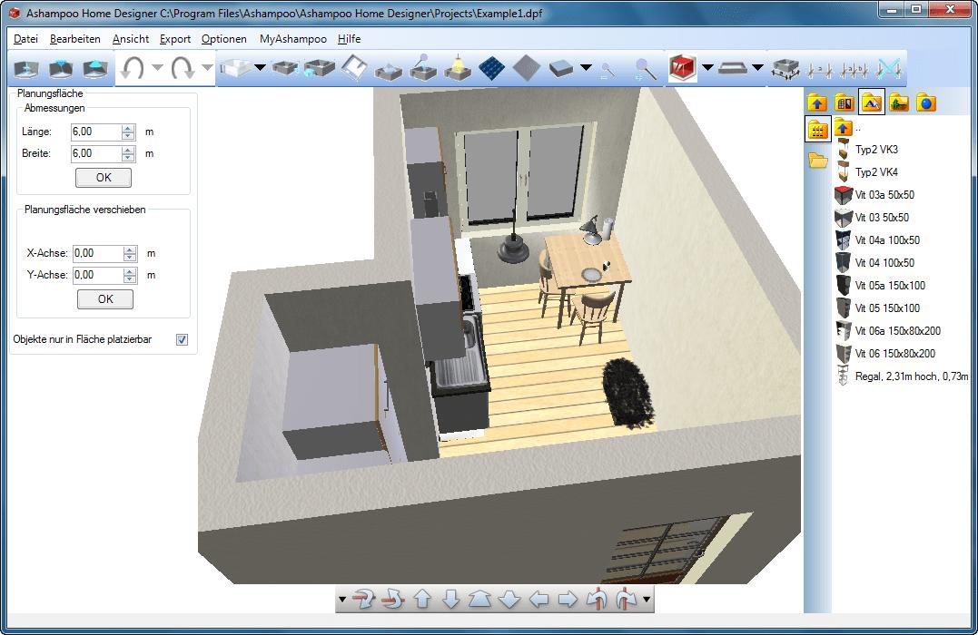 Inneneinrichtung planer  Ashampoo Home Designer Pro - Download