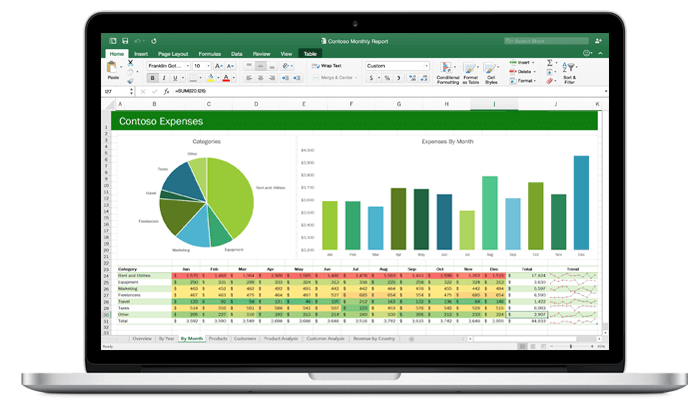 Microsoft Excel 2016 Download