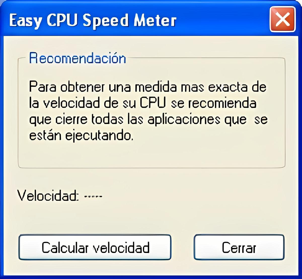 Easy CPU Speed Meter