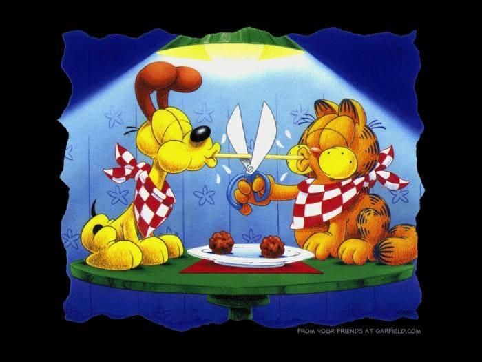 Garfield e Odie