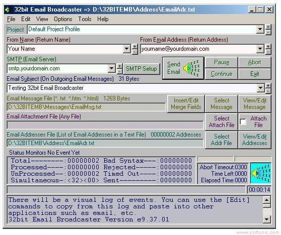 32bit Email Broadcaster