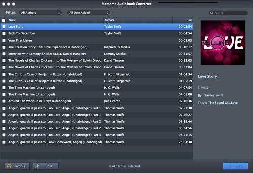 Macsome AudioBook Converter for Mac