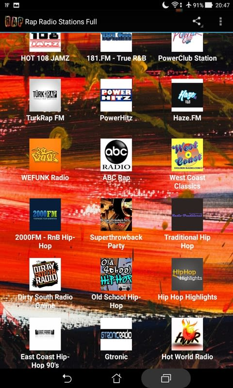 Rap Radio Stations Full