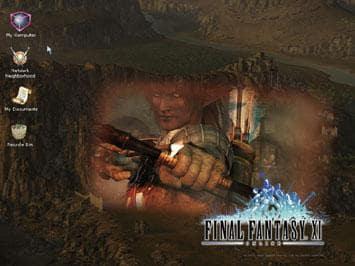 Final Fantasy XI for Windows Desktop Theme