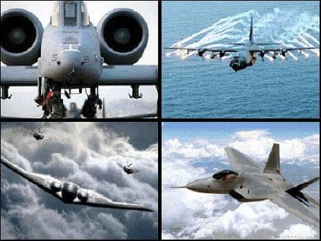 US Air Force Aircraft