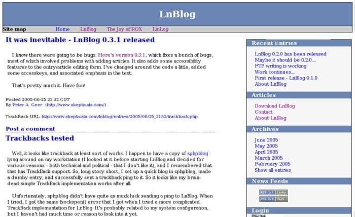 LnBlog