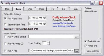 Daily Alarm Clock