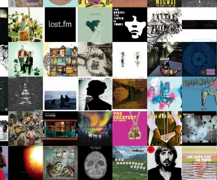 Music Quilt Screensaver