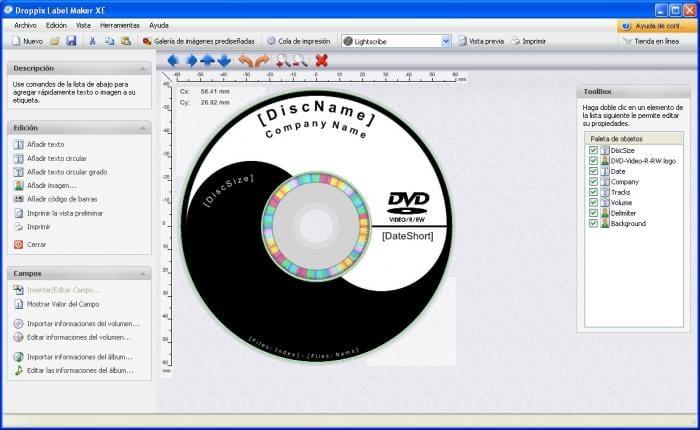 Droppix Label Maker XE
