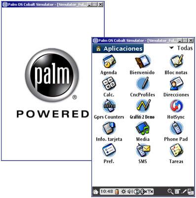 Simulator Palm OS Cobalt