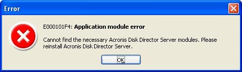 Acronis Disk Director Server 10.0