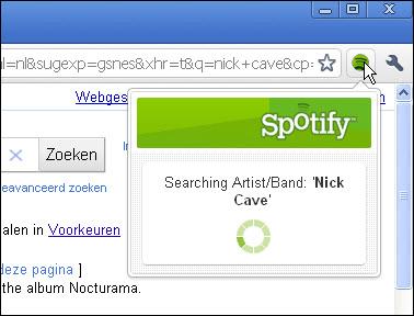 Spotify Chrome Extension