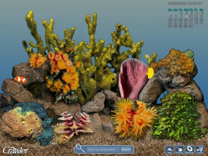 3D Tropical Aquarium Screensaver