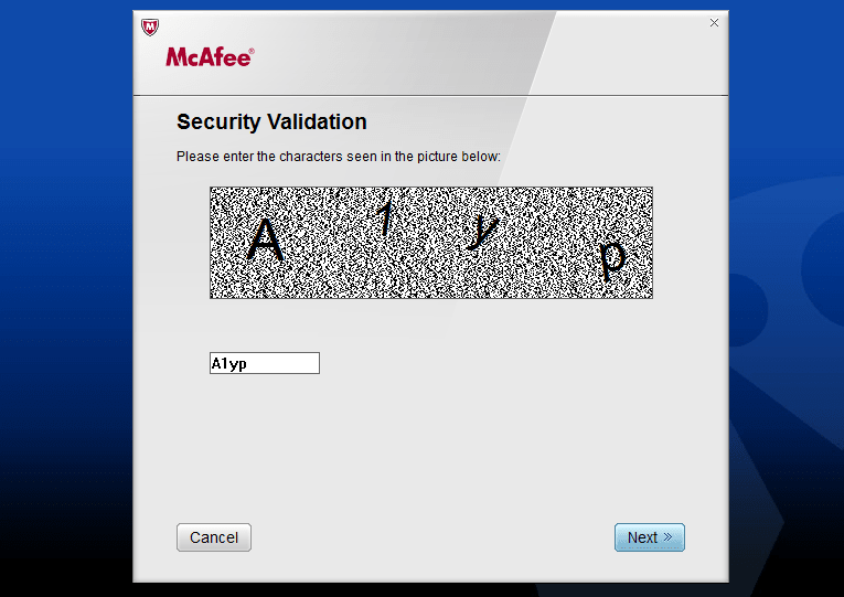 McAfee Consumer Products Removal Tool