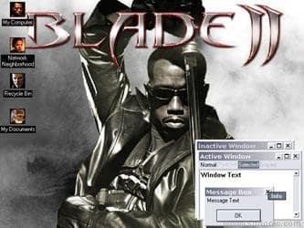 Blade II Destop Theme