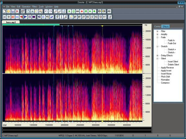 Dexster Audio Editor