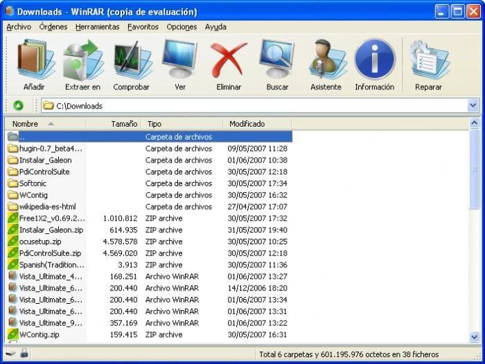 WinRAR Vista Ultimate Theme (64x64)