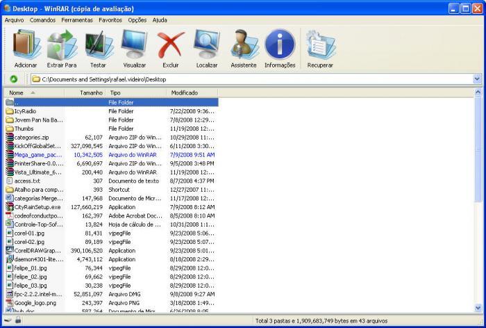 WinRAR Vista Ultimate