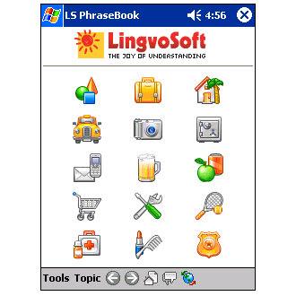 LingvoSoft Talking PhraseBook 2006 Spanish-French