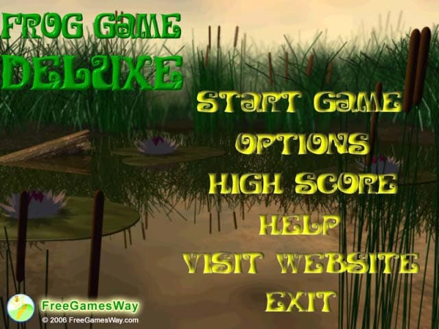 Frog Game Deluxe