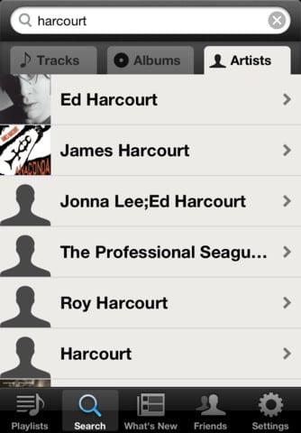 Spotify für iOS 4