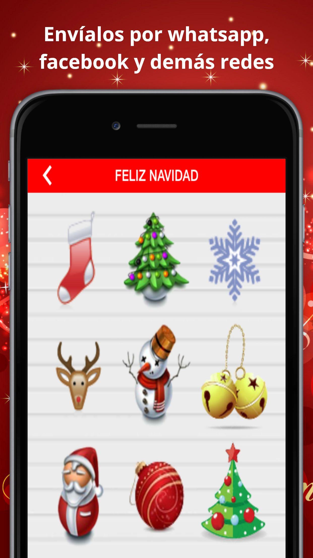 Emoticonos Navidad