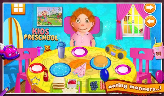 Para niños en edad preescolar