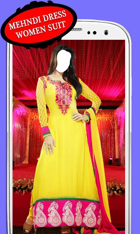 Mehndi Dress Women Suit