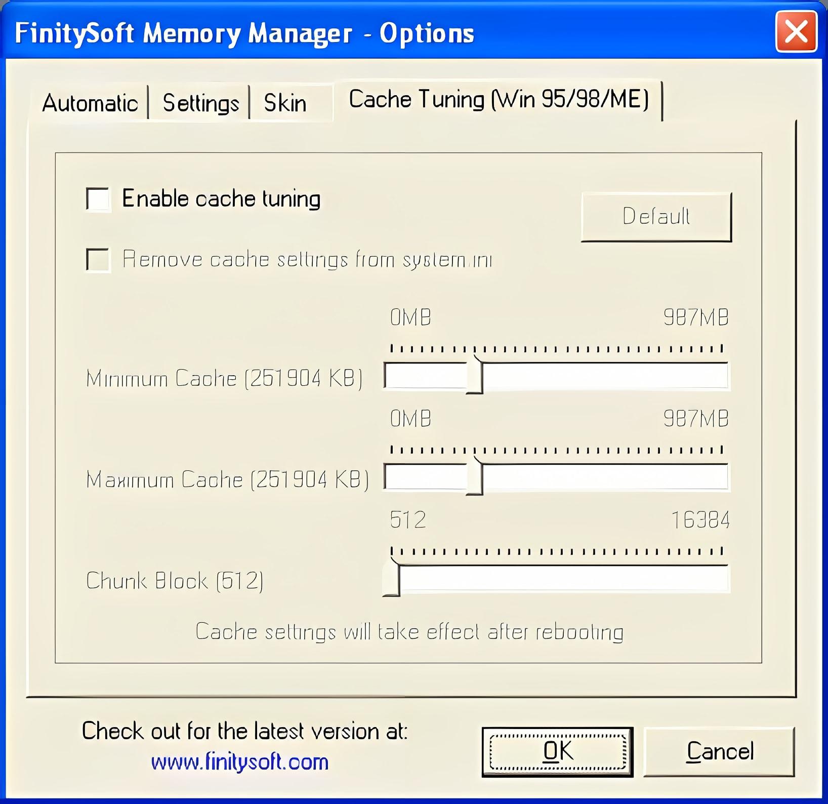 FinitySoft Memory Manager