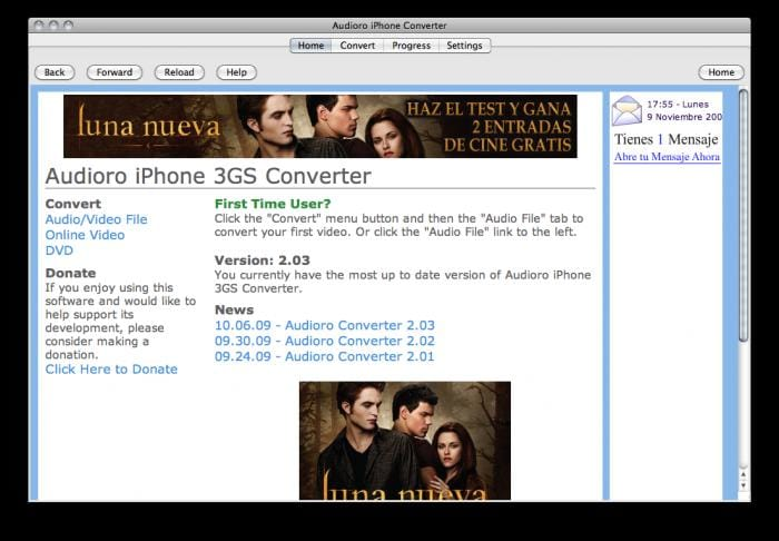 Audioro iPhone Converter 2.03