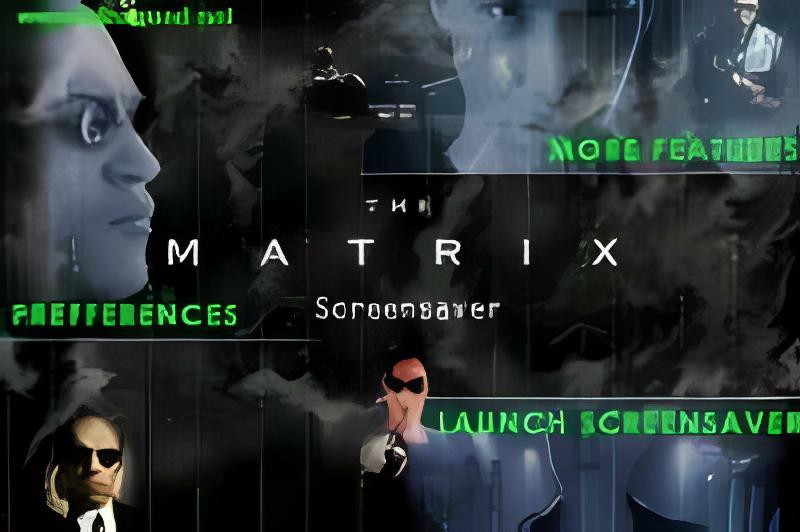 The Matrix Reloaded Screensaver