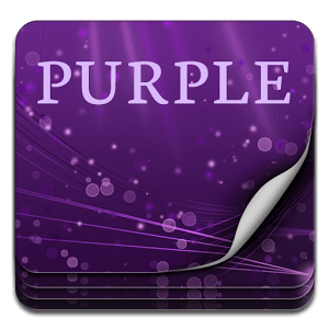 Color Keyboard Purple