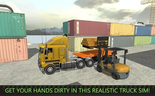 USA Truck Driver: 18 Wheeler