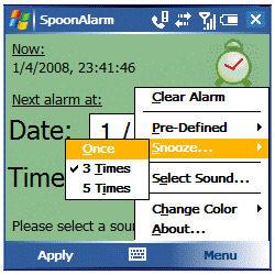SpoonAlarm