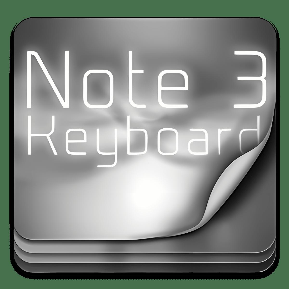 Ir teclado para la nota 3