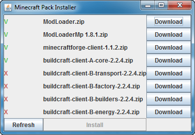 BuildCraft Mod Installer